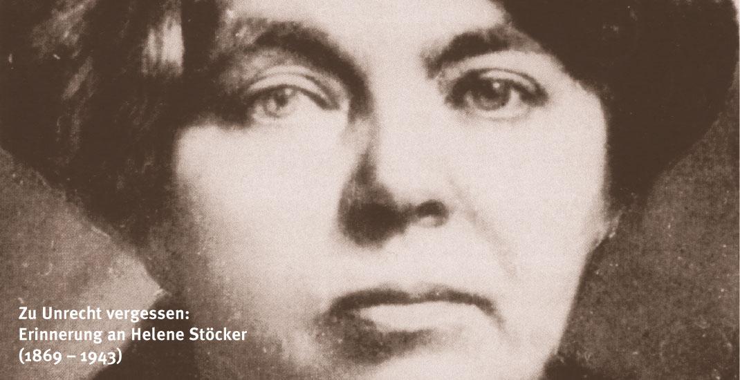 Erinnerung an Helene Stöcker