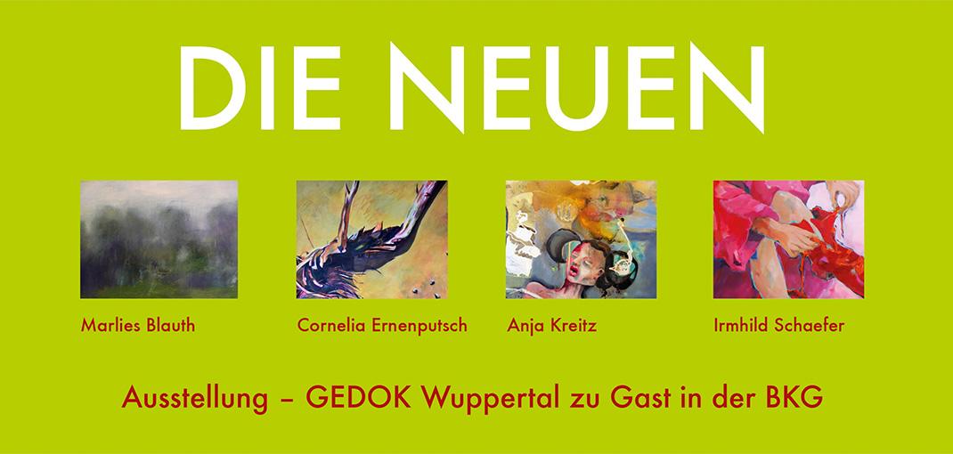 GEDOK-Ausstellung - DIE NEUEN