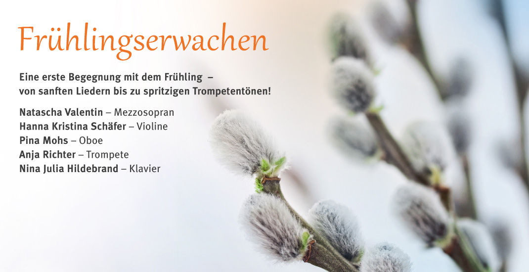 Frühlingserwachen - GEDOK Wuppertal