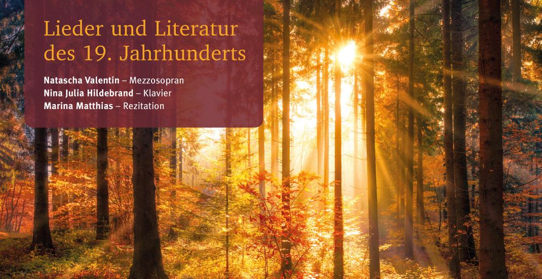 GEDOK - Lieder und Literatur des 19. Jahrhunderts