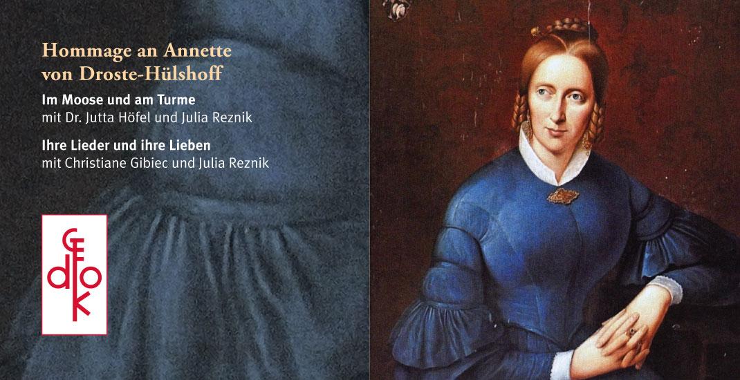 GEDOK - Hommage an Annette von Droste-Hülshoff